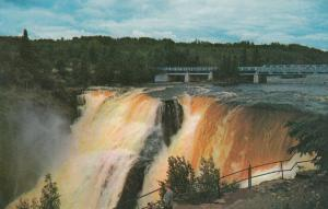 KAKABEKA FALLS, Ontario, 50-60s; Kakabeka Falls, Bridge, Visitor overlook