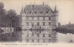 AZAY-LE-RIDEAU, Le Chateau, La Fecade occidentale, Indre et Loire, France, 00...