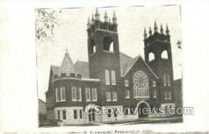 First M.E. Church Parkersburg IA Unused