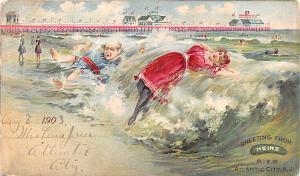 Heinz Ocean Pier Advertising 1908