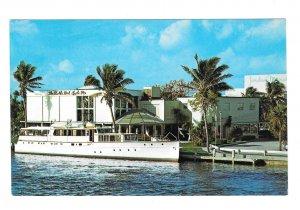 Creightons Restaurant FL Inland Waterway Fort Lauderdale Florida Postcard