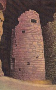 Colorado Manitou Springs Watch Tower In The Ancient Ruins Of Manitou Cliff Dw...