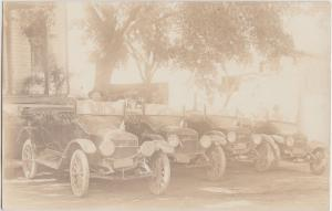 CARS Automobile Postcard Advertising c'10-20 MAXWELL Motors Cars Real Photo RPPC