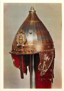 Russia Armoury Moscow Kremlin art card damascus helmet the Jericho hat