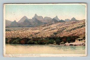 Colorado River AZ, The Needles, Vintage Arizona c1918 Postcard
