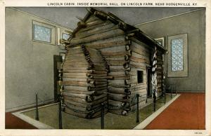 KY - Hodgenville. Lincoln Cabin