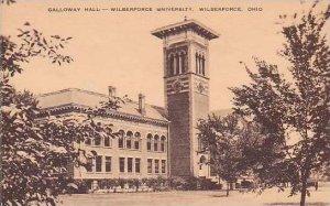Ohio Wilberforce University Galloway Hall Artvue