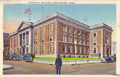 MUNICIPAL BUILDING NEW BEDFORD, MA 1939