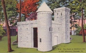 Virginia Roanoke The Castle At Childrens Zoo On Mill Mountain
