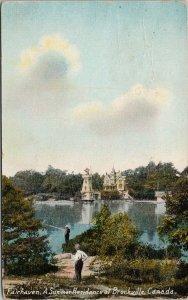 Brockville ON Fairhaven Summer Residence Ontario c1909 Postcard F75