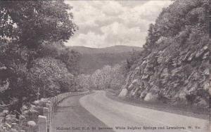 West Virginia Midland Trail Between White Sulphur Springs And Lewisburg