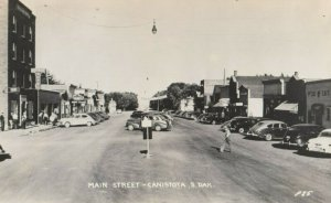 RP; CANISTOTA , South Dakota , 1930-40s Main Street