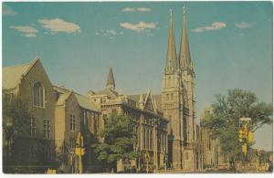 Marquette University Law School, Johnston Hall and Gesu Church, Milwaukee, WI