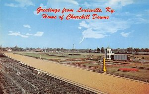 Louisville, KY, USA Home of Churchill Downs Horse Racing Unused