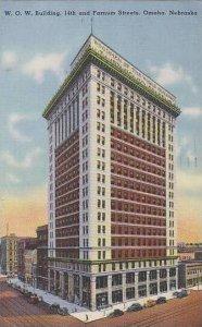 Nebraska Omaha W O W Building