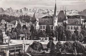 Switzerland Bern Museum und die Alpen 1956 Photo