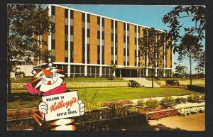 Kellogg Co Headquarters Battle Creek MI Unused c1950s