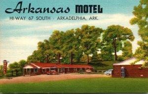 Arkansas Arkadelphia The Arkansas Motel Hi-Way 67 South