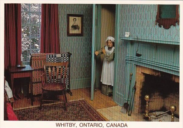 Canada Ontario Whitby The Bedroom The Lynde House Museum