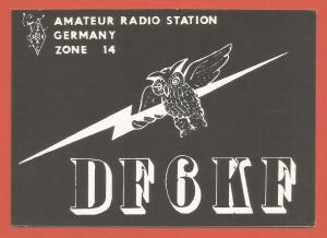 QSL AMATEUR RADIO CARD – COLOGNE, GERMANY – 1980 - OWL