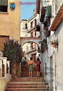 Spain Benidorm Calle Los Gatos, Street The Cats Promenade