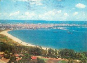 Post card Bulgaria Varna seaside panoramic aspect