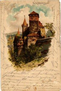 CPA AK Nurnberg- Funfeckiger Turm GERMANY (941226)