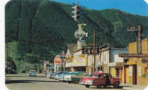 JACKSON , Wyoming , 50-60s ; Main Street , Business Section ,