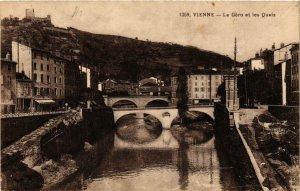 CPA VIENNE - La Gere et les Quais (667754)