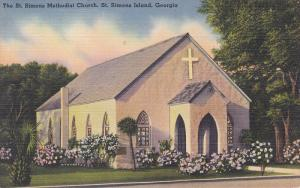The St. Simons Methodist Church, St. Simons Island, Georgia, 30-40s