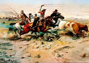 Herd Quitter By Charles Marion Russell