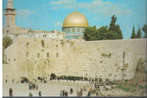 Postcard - The Western Wall - Jerusalem Israel
