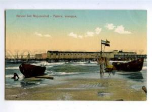 162135 Latvia RIGA Majorenhof seaside Vintage postcard