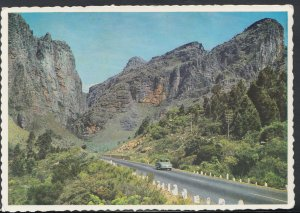 South Africa Postcard - The Road North, Du Toits Kloof, The Cape     RR3586
