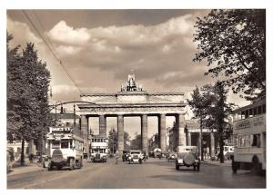 Berlin Brandenburger Tor Auto Vintage Cars Voitures Reprint