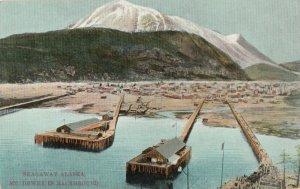 SKAGWAY , Alaska, 1910s ; Waterfront