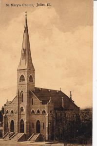 St. Mary's Church, JOLIET, Illinois, 1900-1910s