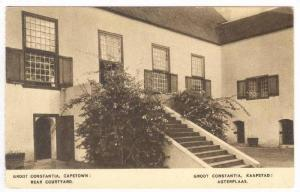 Groot Constantia, Rear Courtyard,, Cape Town, South Africa, 1910-30s