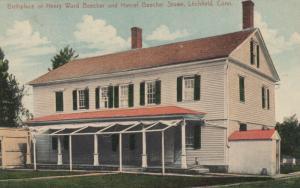 LITCHFIELD, CT, 00-10s; Birthplace of Henry Ward Beecher & Harriet Beecher Stowe