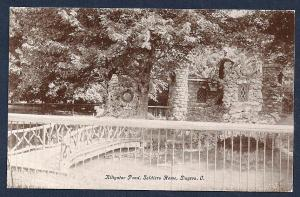 Alligator Pond Soldiers Home Dayton Ohio used c1909