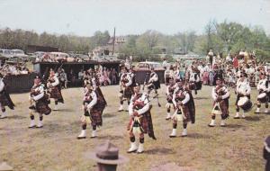 World Famous Nova Scotia Massed Pipers,  Nova Scotia,  Canada,   PU-1973