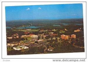 Aerial, Clemson Univerisity Campus, Clemson, South Carolina, 40-60s