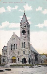 Iowa Des Moines Catholic Church 1910