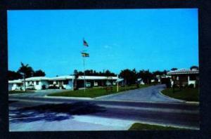 FL Twin Motel & Coffee Shop SARASOTA FLORIDA Postcard