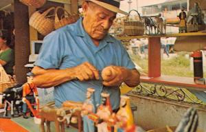 San Juan Puerto Rico making religious image Annual Craftsmans Fair pc Y11608