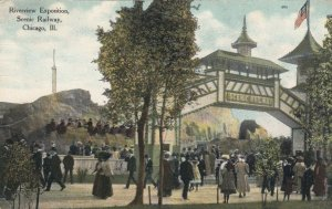 CHICAGO, Illinois, 1900-10s ; Riverview Exposition, Scenic Railway