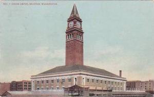 Washington Seattle Union Railroad Depot 1909