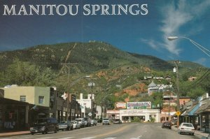 MANITOU SPRINGS, Colorado, 1950-70s; Business District of Manitou Ave.