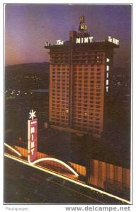 Del Webb´s Mint Hotel & Casino, Las Vegas, Nevada, NV, Chrome