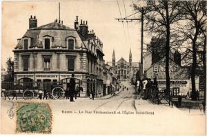CPA Reims - La Rue Flechambault (277066)